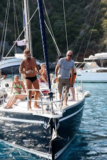 Sailing in the Sporades Islands